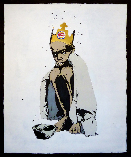 Banksy, Burger King Kid Executed circa 2006