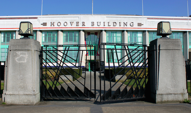 Hoover Building, previously the Hoover Factory, in Perivale by shadow_in_the_water