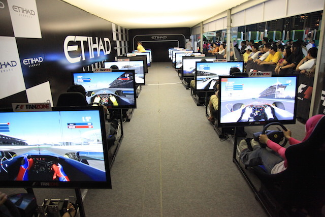Feel what it's like to be a driver on a Simulator