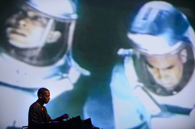 Detroit's techno-meister Jeff Mills. Photo by Jose Farinha.