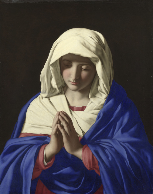 Sassoferrato The Virgin in Prayer The National Gallery, London