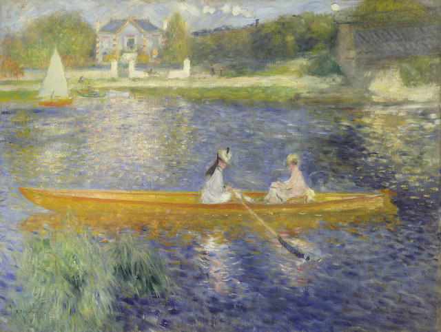 Pierre-Auguste Renoir The Skiff (La Yole), 1875 © The National Gallery, London