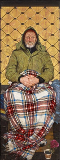 Man with a Plaid Blanket by Thomas Ganter Copyright: Thomas Ganter
