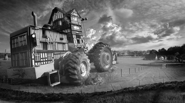 Barbara Nati, Tractor. Image courtesy and copyright of the artist