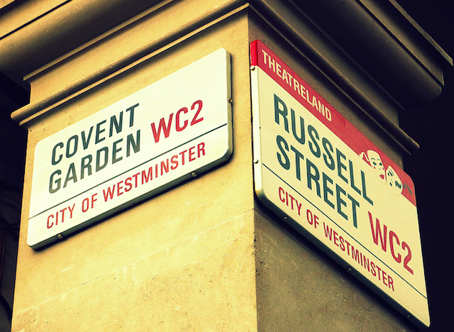 Two of London's most iconic signs, and never the twain shall meet...Image: Wipeout Dave