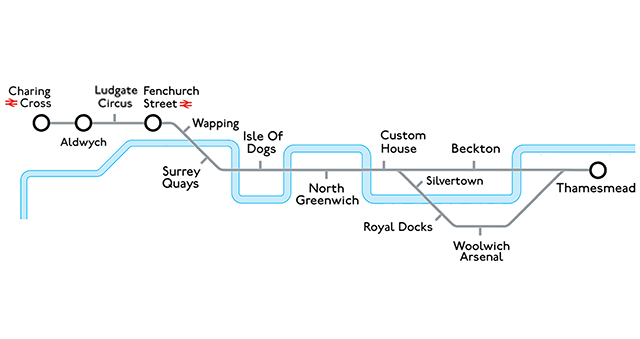 The Tube Line That Never Was