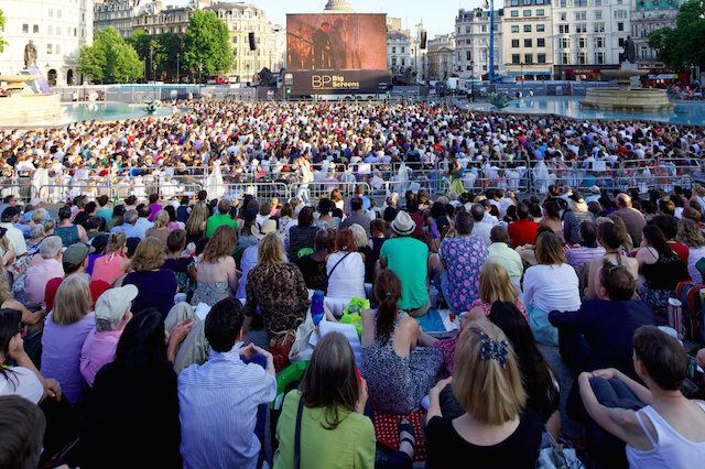 See opera live for free at BP Big Screens.