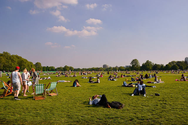 Summer In London by abbsdavid.