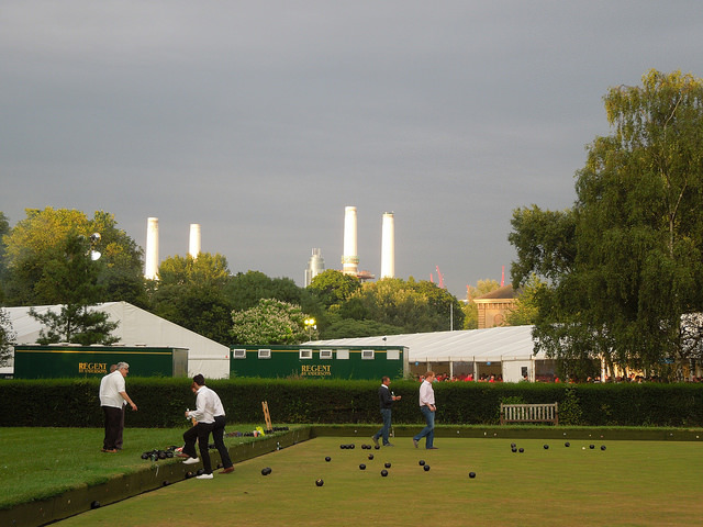 Battersea Park Bowling Green by PastLondon.