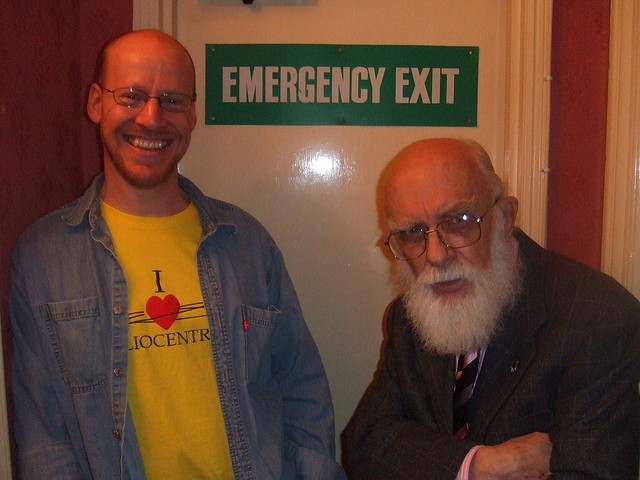 Phil Plait, the 'bad astronomer' and James Randi choose the Rugby Tavern.
