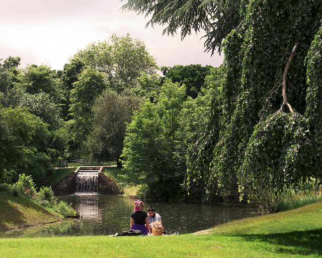 Picnic In The Park by Mike Hewson.