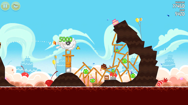 Angry Birds, 2009. Image courtesy of Rovio Entertainment Limited