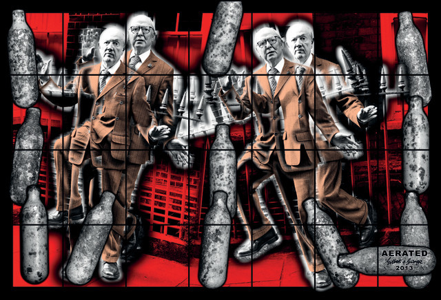 AERATED 2013 118 7/8 x 174 13/16 in. (302 x 444 cm) © Gilbert & George Courtesy White Cube
