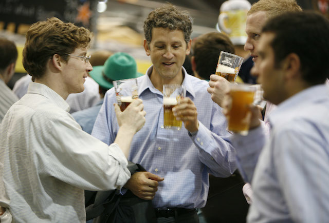 The Great British Beer Festival at Earls Court, London, Thursday, Aug.05, 2010, London   (Photo credit should read: Hazel Dunlop/CAMRA) ** NO SALES - NO ARCHIVES - NO COMMERCIAL USE  - EDITORIAL USE IN CONNECTION WITH CAMRA **