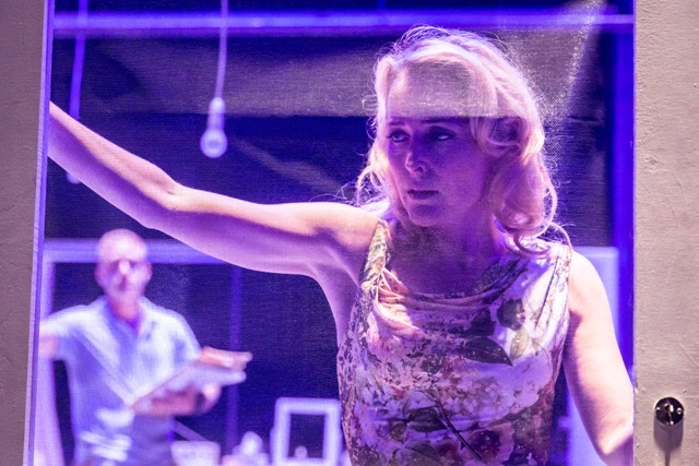 A Streetcar Named Desire by Williams,     , Writer - Tennessee Williams, Director - Benedict Andrews, Design - Magda Willi, Costumes - Victoria Behr, Lighting - Jon Clark, The Young Vic Theatre, 2014, Credit: Johan Persson/