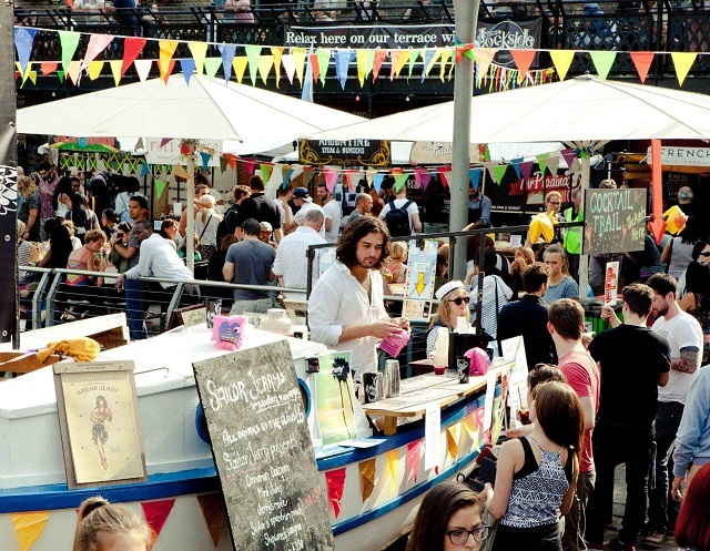 Camden Lock Live Rocks The Regent's Canal This Friday