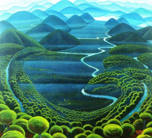 Futurist Paintings By Gerardo Dottori