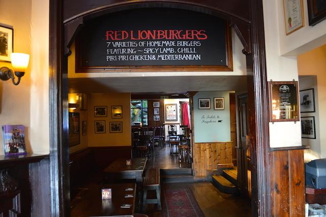 A long, long pub.