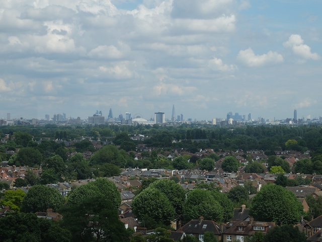 Spot the London landmarks from the top of the Pagoda