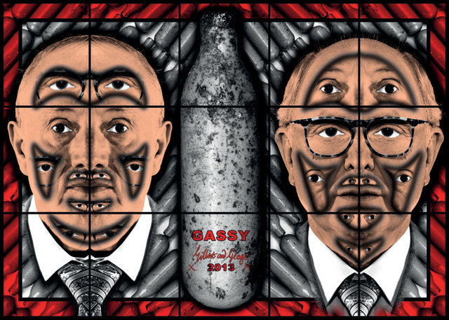 GASSY 2013 © Gilbert & George Courtesy White Cube