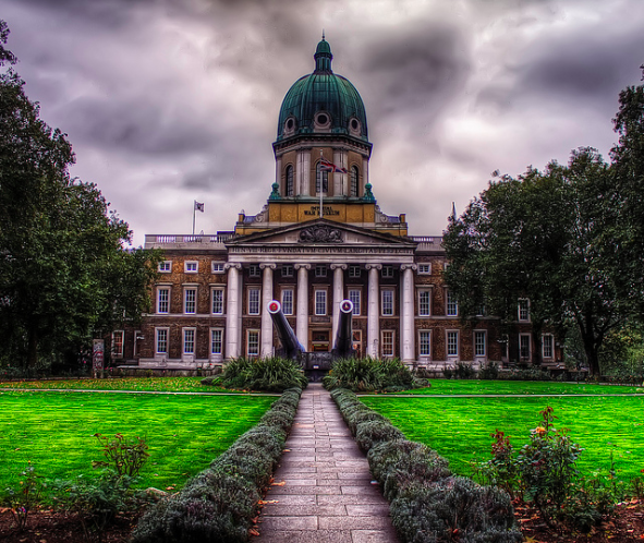 Not a monument in a strict sense, but at the same time, perhaps the most important war monument of all, the Imperial War Museum. It recently reopened after refurbishment.
