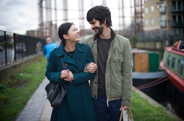 Naomi Christie and Ben Whishaw.