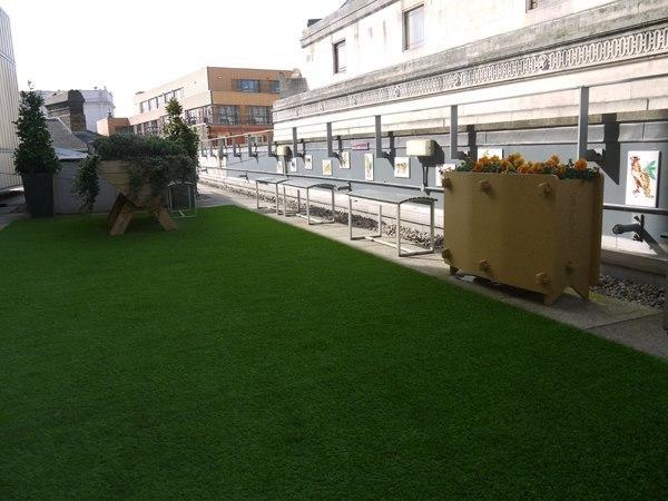 Take a break in City Lit's roof garden