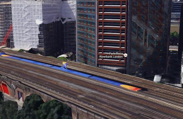 Google's 3D London Map: The Odd Bits
