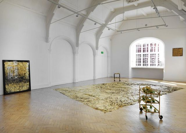 Installation view of Shelagh Wakely: A View from a Window, at Camden Arts Centre, 2014. Photo: Marcus J Leith