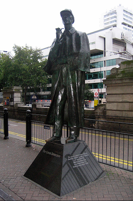 You won't need Watson's help to find this larger than life (three metres, to be precise) bronze statue of Sherlock Holmes outside Baker Street station, around the corner from his famous 221b Baker Street abode. Scuplted by John Doubleday in 1999, it was funded by the now defunct Abbey National, whose building was on the site of 221b (the modern-day Sherlock Holmes Museum is actually at 239 Baker Street). There is no statue of Sherlock creator Sir Arthur Conan Doyle in London, but there is one in Crowborough, East Sussex, where he lived just before his death.