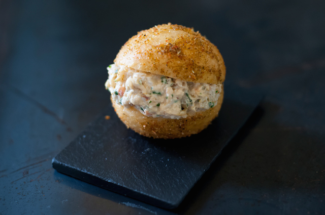 Spider Crab Brioche, Notting Hill Kitchen