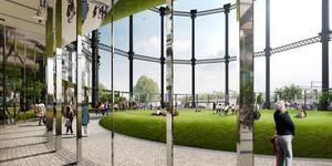 King's Cross Gasholder Park Plans Approved
