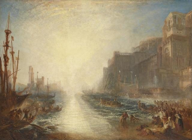 Regulus 1828, reworked 1837 Joseph Mallord William Turner 1775-1851 Accepted by the nation as part of the Turner Bequest 1856 http://www.tate.org.uk/art/work/N00519