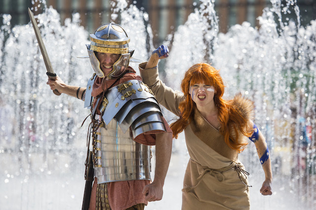 Boudicca and the Romans will be battling again in King's Cross, on the 30th & 31st of August