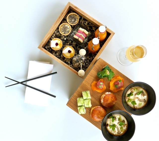Japanese-style afternoon tea at the Magazine restaurant at the Serpentine Sackler Gallery