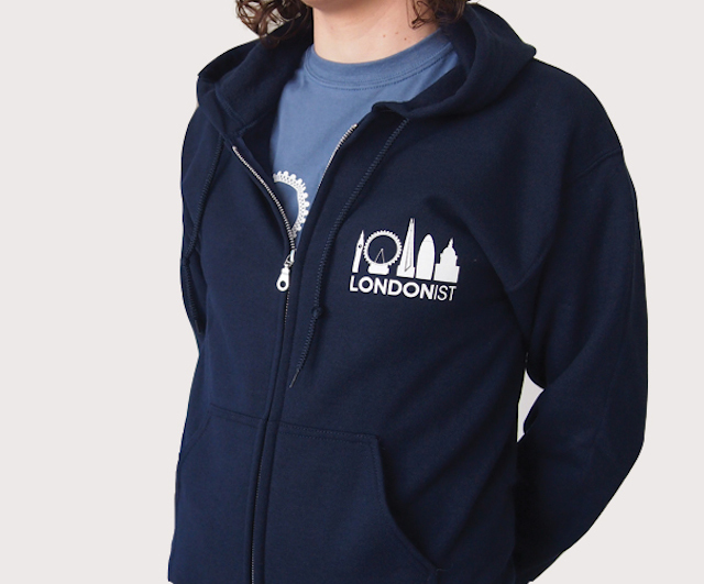Londonist hoodie.