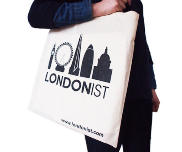Londonist tote bag.