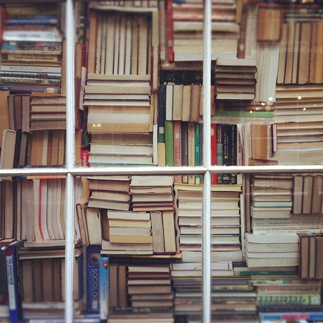 Books in Bloomsbury, by Maki Aoyama.