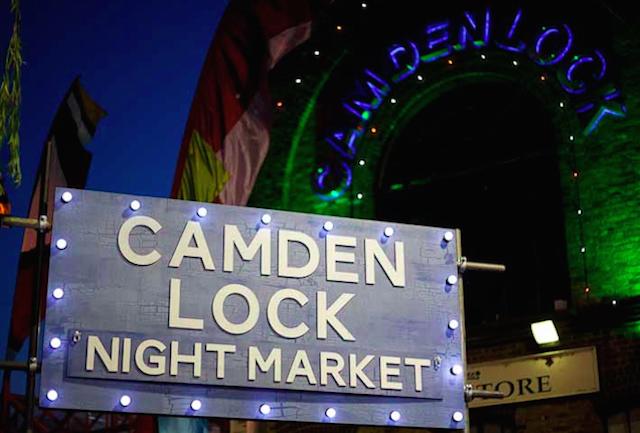 Street Food Under The Stars At Camden Lock