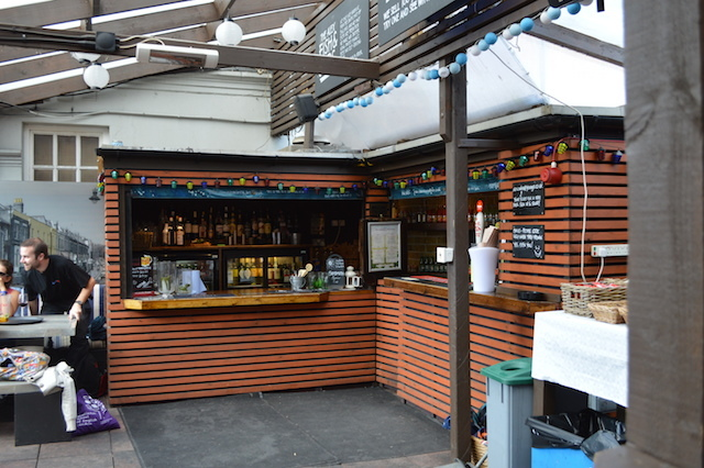 Roof terrace bar...not so good for ale fans, but plenty for anyone else.