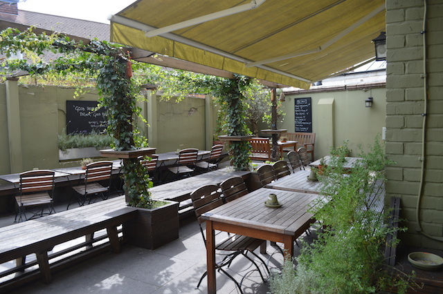 A beer garden is always a boon, but here the interior is so beautiful it would be a big shame to sit outside.