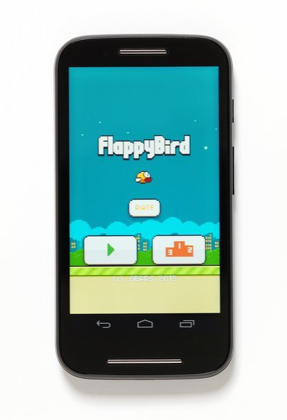 'Flappy Bird' mobile game 2013 Designed by .Gears Studios Photo (c) Victoria and Albert Museum, London
