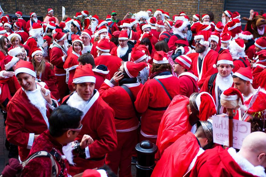 Santacon can ruin a childhood.