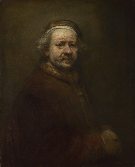 Rembrandt's Self Portrait at the Age of 63, 1669© The National Gallery, London