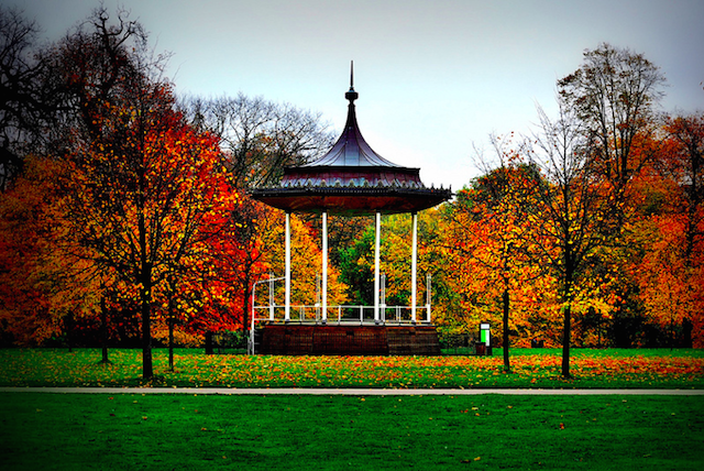 Kensington Gardens in Autumn, by Nick Richards