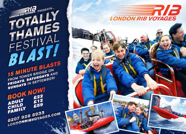 Hold on tight with your RIBS Blast trip tickets