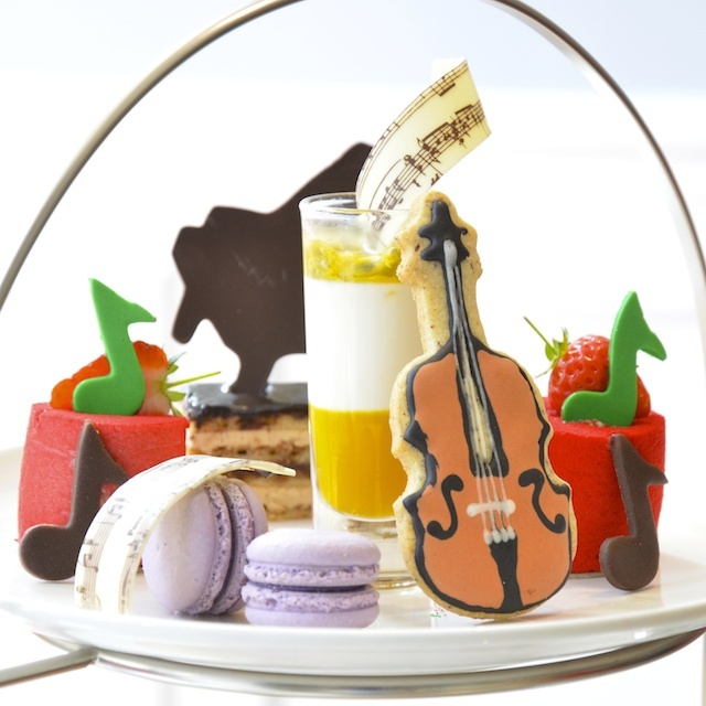 Musical tea at Ampersand Hotel