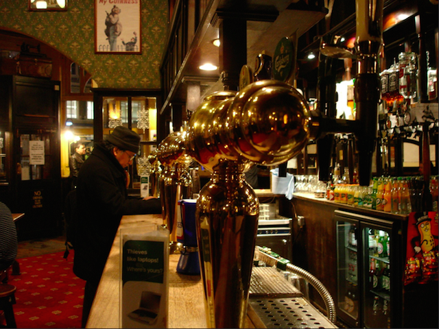 Inside The World's End in Camden, by Birgit