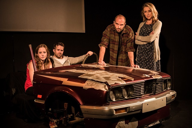 Zoe Swenson-Graham, Tom Slatter, Sharon Maughan and Henry Everett. Photo by Scott Rylander.