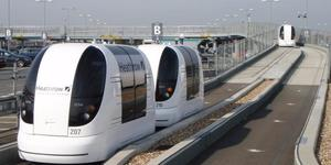 A Ride On Heathrow's Self-Driving Pods